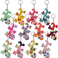 Little Gecko Googly Key Ring