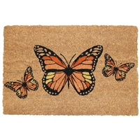 Monarch Butterflies Door Mat