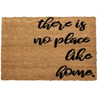 There's No Place Like Home Door Mat