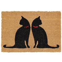 Cat Friends Door Mat