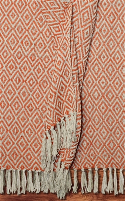 Arches Landing Cotton Throw