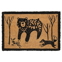 Bear & Friends Door Mat