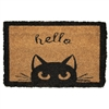 Hello Cat Mini Door Mat