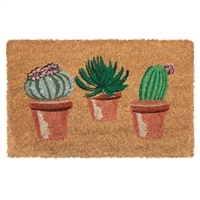 Cactus Pots Mini Door Mat