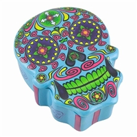 Sugar Skull Box Blue