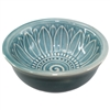 River Blue Flower Bowl