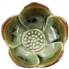 Lotus Cup Green Ceramic