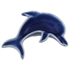 Jumping Dolphin Ceramic