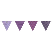 Paper Triangle Bunting Royal Gltr