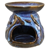Ancient Sky Oil Burner Ceramic Blue/Brown