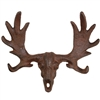 Moose Skull & Antlers Wall Hook