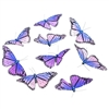Lavender Butterfly Garland
