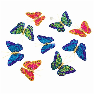 Royal Jewels Butterfly Garland