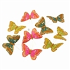 Summer Glitter Butterfly Garland