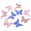 Spring Lights Glitter Butterfly Garland