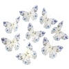 Fantasy Roses Butterfly Garland