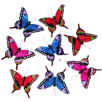 Evening Fiesta Butterfly Garland