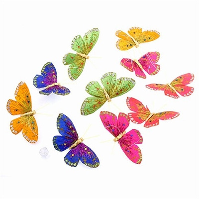Butterfly Garland Multicolor