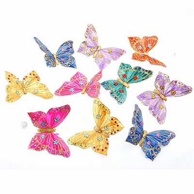 Butterfly Garland Multi-Color