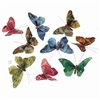 Vineyard Sky Gltr Butterfly Garland
