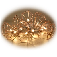 Copper Wire Cone Lights