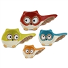 Nesting Owls Ceramic Measuring Cups