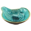 Dovey Bird Ceramic Bowl Turquoise