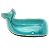 Wesley the Whale Dish Ceramic Teal