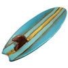 Mavericks Surfboard Ceramic Plate