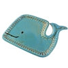 Winona Whale Tray Turquoise/Brown
