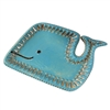 Winona Baby Whale Tray Turquoise/Brown