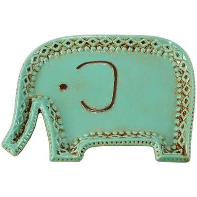 Elsa Elephant Ceramic Tray