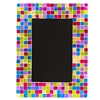 Metallic Glass Mosaic Frame