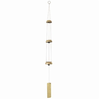 Brass Temple Bell Chime