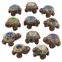 Ceramic Turtle Incense Holders