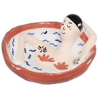 Bathing Person Ring Dish