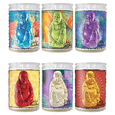 Lucky Buddha Mini Candle Jars